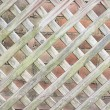 Wooden Lattice Background — Stock Photo