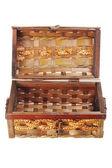 Caja de almacenaje de caña — Foto de Stock