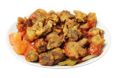 Sweet and Sour Pork Dish — Stock Photo