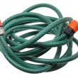 Garden Hose on White Background — Stock Photo