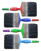Old Paint Brushes — Stock Photo