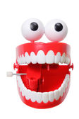 Chattering Teeth Toy — Stock Photo