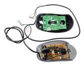 Uszkodzony komputer mysz — Zdjęcie stockowe