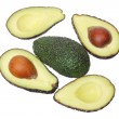 Stock Photo: Avocados