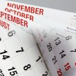 Stock Photo: Calendar Pages