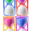 Foto Stock: Hour Glasses