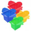 Plastic Food Boxes — Stockfoto