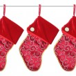 Christmas Stockings — Stock Photo