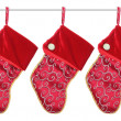 Christmas Stockings — Stock Photo #16265989