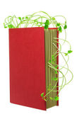 Book and Sprouts — Stock Photo