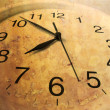 Stock Photo: Clock with Mottled Texture