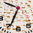 Clock and Puzzle Pieces — Stock Photo #21595463