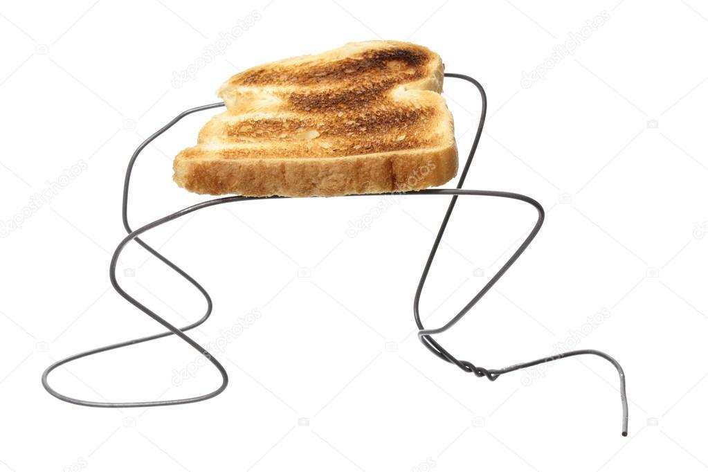 Wire Hanger Toaster Stock Photo Newlight 22522313
