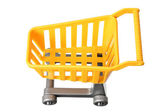 Toy Shopping Trolley — Stock Photo