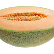 Stock Photo: Half of Rock Melon