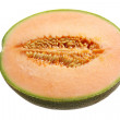 Half of Rock Melon — Stock Photo
