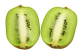 Halves of Kiwifruit — Stock Photo