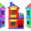 Toy Houses — Foto de Stock