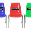 Plastic Chairs — Stock Photo #28834541