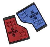 Laptop Remote Controls — Stock Photo
