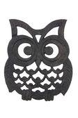 Owl Iron Rest — Stock Photo