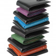 Stack of Wallets — Stock Photo