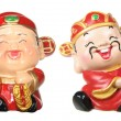 God of Prosperity Figurines — Stock Photo
