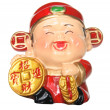 Stock Photo: God of Prosperity Figurine