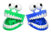 Chattering Teeth — Stock Photo
