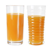 Glasses of Orange Juice — Stock Photo