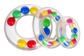 Toy Stacking Rings — Stock Photo