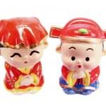 Chinese Wedding Couple Figurines — Stock Photo #47689285