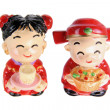 Chinese Wedding Couple Figurines — Stock Photo #47689297