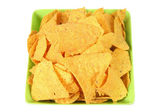 Corn Chips in Bowl — Stock Photo
