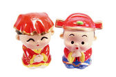 Chinese Wedding Couple Figurines — Stock Photo