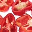 Red Capsicums — Stock Photo #49958855