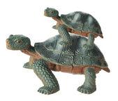 Toy Tortoises — Stock Photo