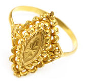 Indian wedding ring for bride — Stock Photo