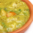 Bengali cuisine – Mashkalai dal with shrimp - Stock Photo