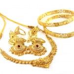 Hochzeit gold jwelry — Stockfoto