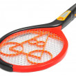 图库照片: Mosquito killing racket