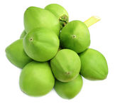Green coconuts — Stock Photo
