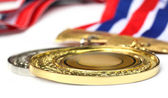 Gold medal — Stockfoto