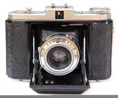 Starožitný fotoaparát — Stock fotografie