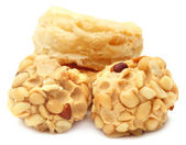 Cookies with peanut treat — Stockfoto