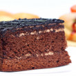 Foto de Stock  : Piece of chocolate cake