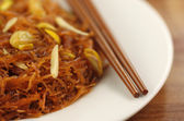 Sweet vermicelli with chopstick — Stock Photo