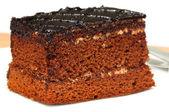 Chocolate pastr — Стоковое фото
