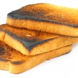 Stock Photo: Toasted bread