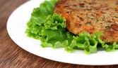 Vegetable cutlet — Stock Photo